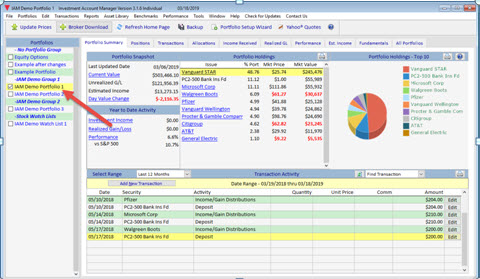 Investment Account Manager | Uploading Your Portfolio to